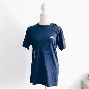 NWT Adidas Navy The Go To Logo T-shirt